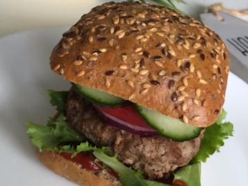 pyszny burger wołowy an2wer
